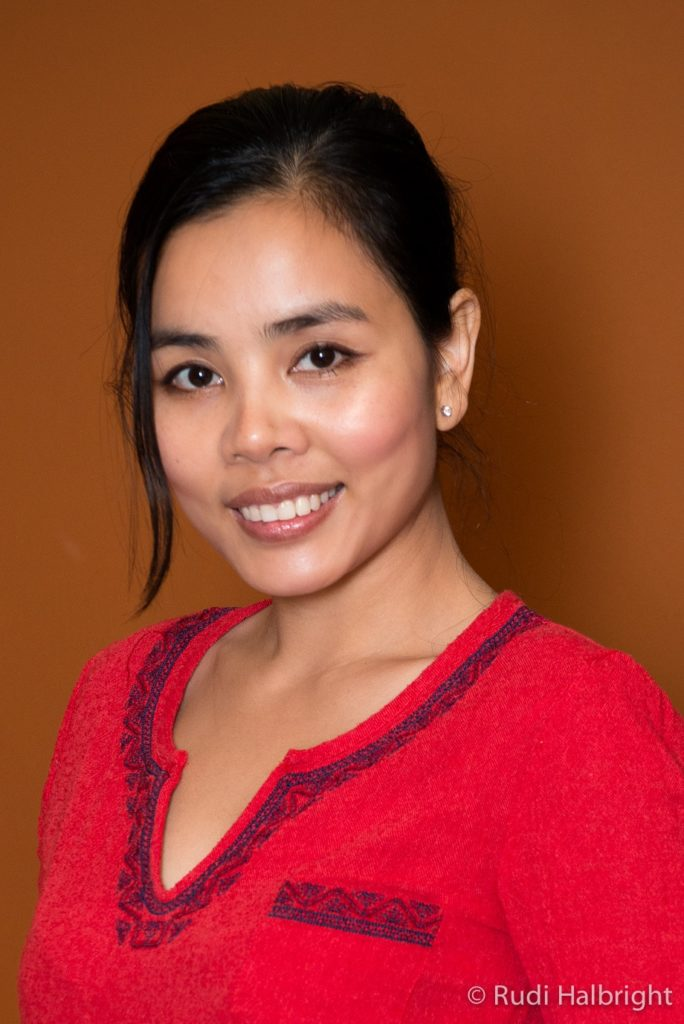 Portrait of Mai Trieu, San Francisco California Thai Massage Therapist