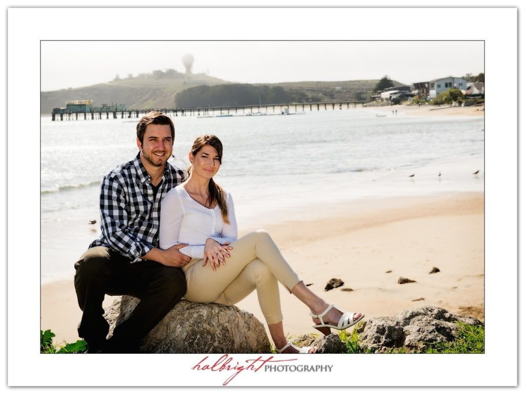Engagement Portrait at Mavericks | Half Moon Bay