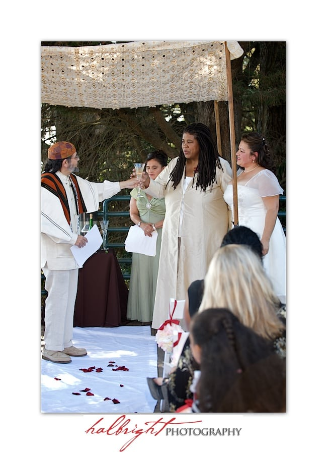 Wedding Ceremony - Joaquin Miller Park and Community Center - Oakland Wedding Ceremony