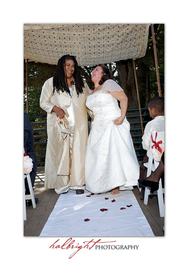 Wedding Ceremony - Joaquin Miller Park and Community Center - Oakland Wedding