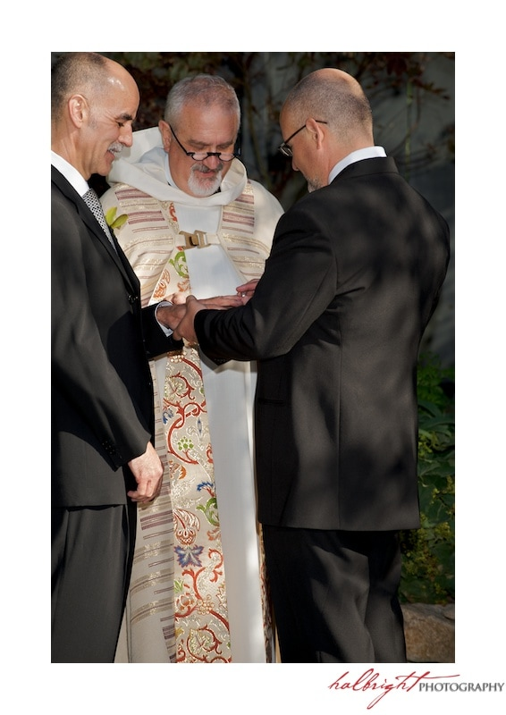 Exchanging of the Rings | GLBT - San Francisco Wedding