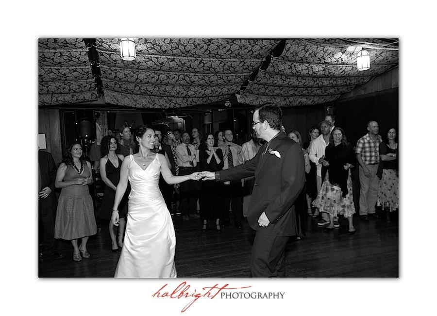 First Dance of Bride and Groom | UC Berkeley Wedding - Berkeley Faculty Club - Berkeley Wedding Photographer