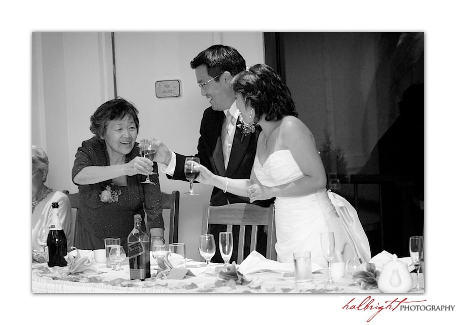 Toasting the Bride and Groom - East Ocean Hong Kong Wedding  - Wedding