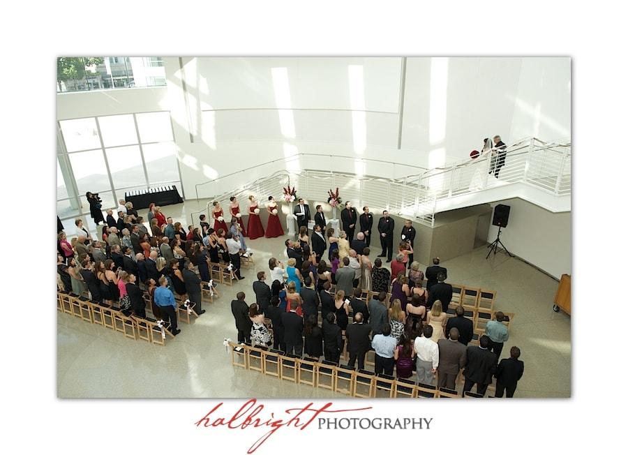 The Bride and her father enter the wedding venue | San Jose City Hall Wedding - San Jose Rotunda Wedding