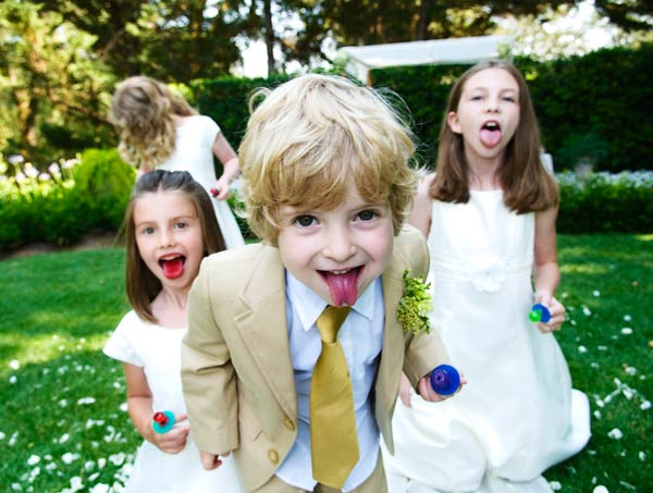 Kids playing - Healdsburg - Madrona Manor Wedding