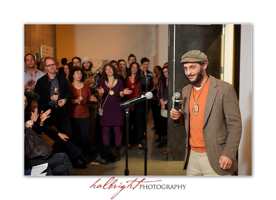 Zelig Golden - Wilderness Torah - Holiday Fundraiser - David Brower Center Berkeley