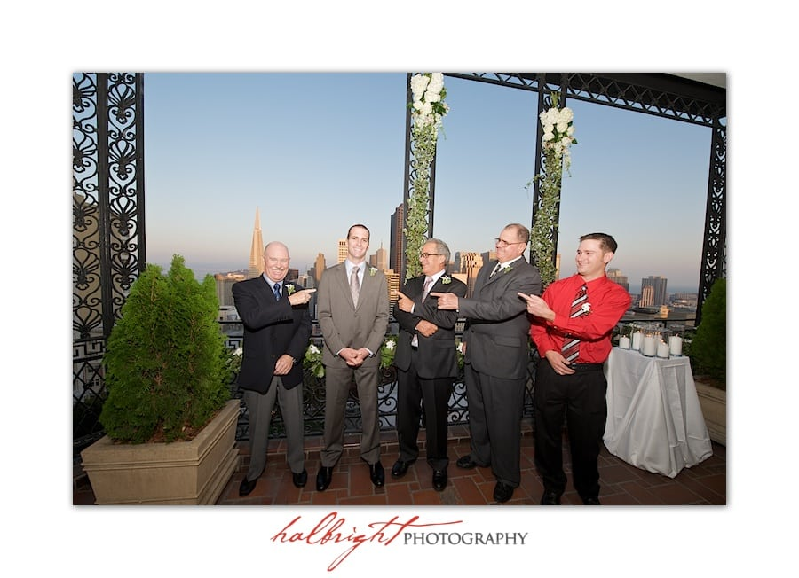 groom and the guys-fairmont-san-francisco-wedding