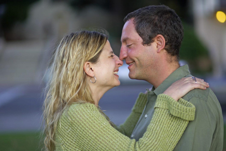 Engagement portrait at Oakland Lake Merritt