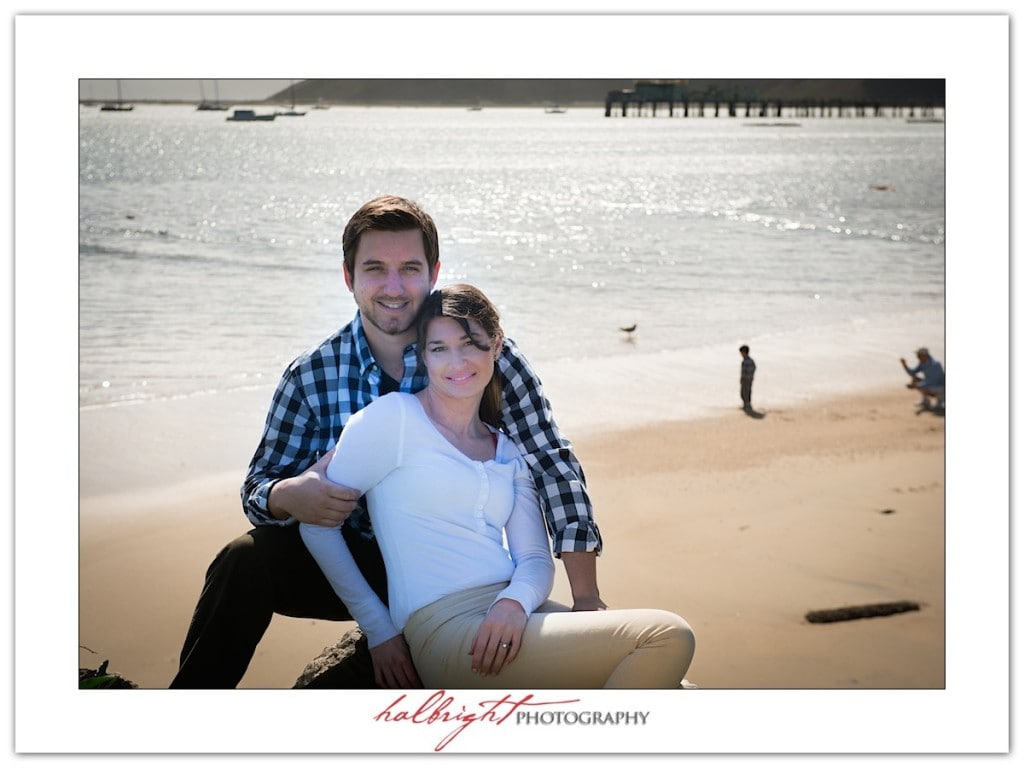 Engagement Portrait on the Beach | Mavericks - Half Moon Bay - Engagement Portrait Photography