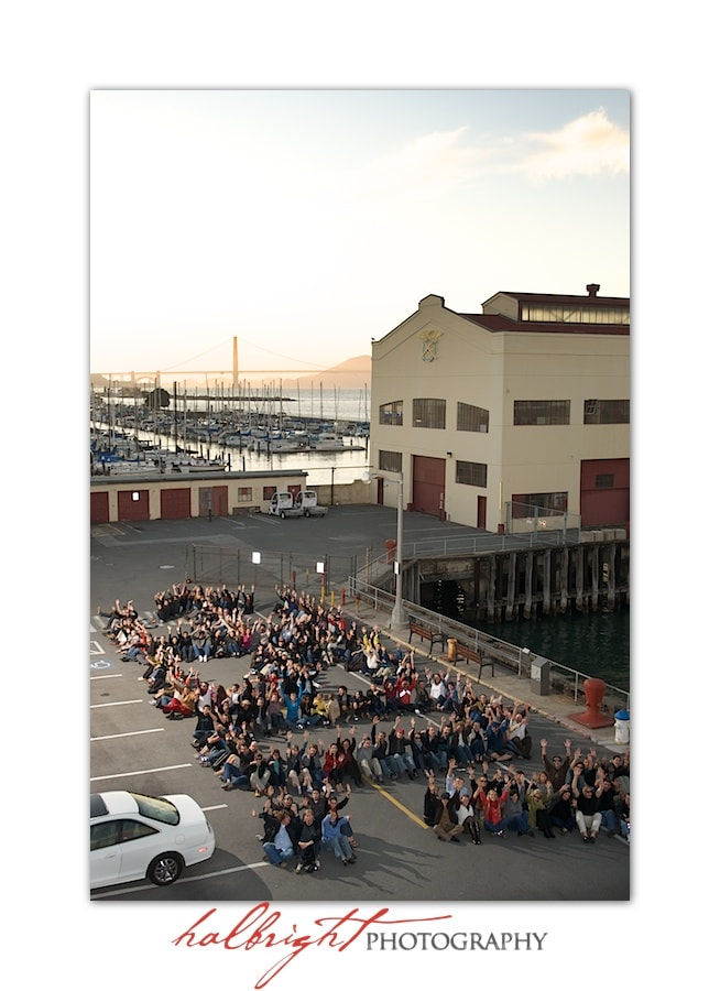 Raising climate awareness with 350.org - Golden Gate Bridge - Fort Mason - San Francisco
